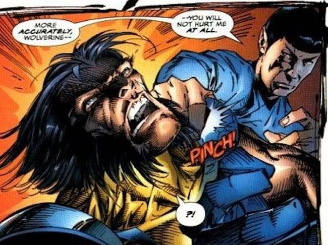 wolverine vs spock