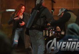 Veja os bastidores das gravações da Scarlet Witch em Vingadores: Guerra Infinita