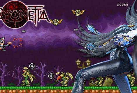 Jogo grátis de 8-bits de Bayonetta revela um segredo sobre a franquia