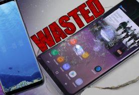 Galaxy S8 recebe a pior nota da história no teste de resistência da SquareTrade