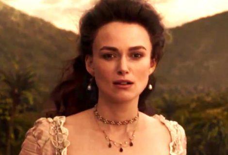 Novo trailer de Piratas do Caribe 5 apresenta o retorno de Elizabeth Swann