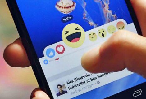 Usuários podem agora usar reações nos comentários do Facebook