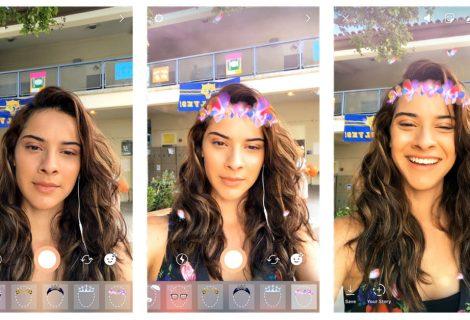Instagram adiciona 'máscaras' copiando função do Snapchat