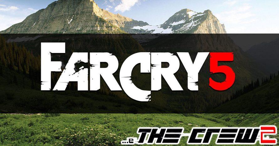 Ubisoft anuncia Far Cry 5, The Crew 2 e novo Assassin's Creed
