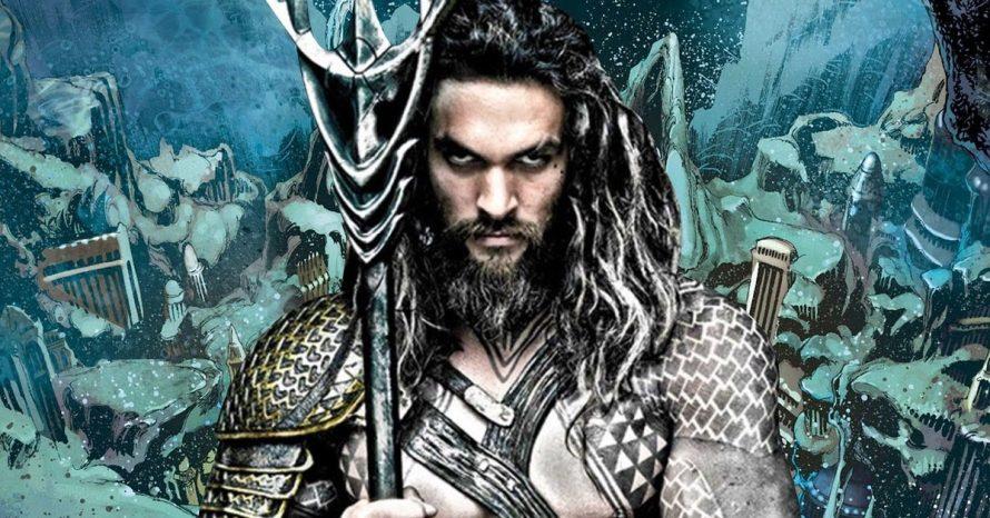 Fotos dos bastidores de Aquaman revelam armadura do herói