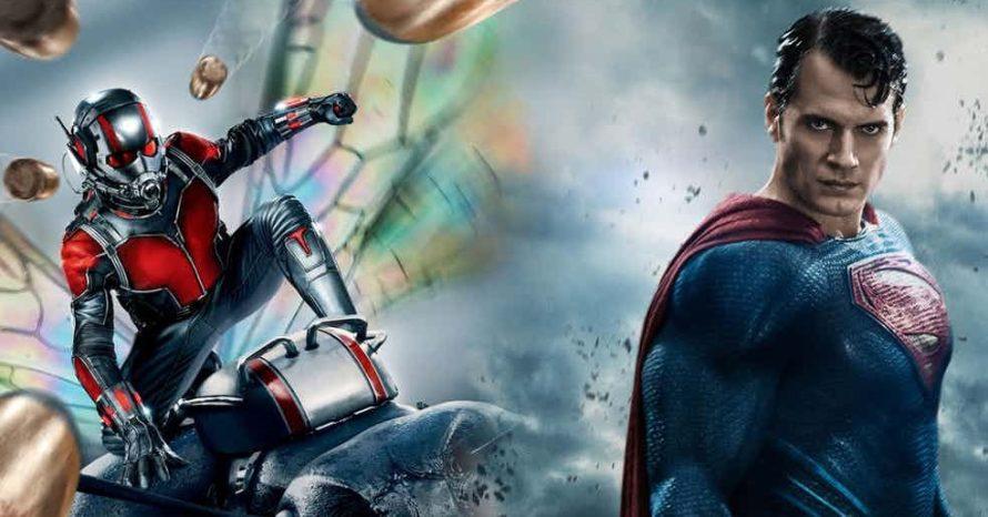 Homem-Formiga ganharia luta contra Superman, afirma físico da Marvel