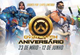 Overwatch tem evento de aniversário com novos mapas, skins e surpresas