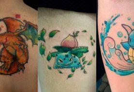 Conheça a mulher que quer tatuar todos os Pokémon