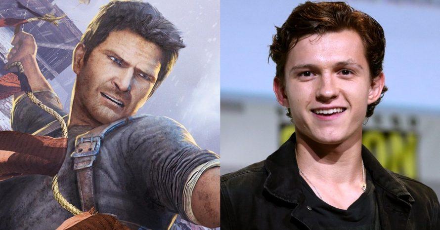 Tom Holland, o Homem-Aranha, vai protagonizar filme de Uncharted