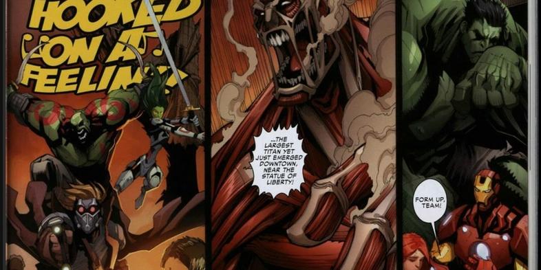 Avengers-Guardians-Galaxy-Attack-Titan