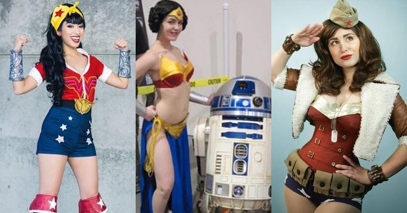 10 Cosplays Diferentes E Incríveis De Mulher Maravilha