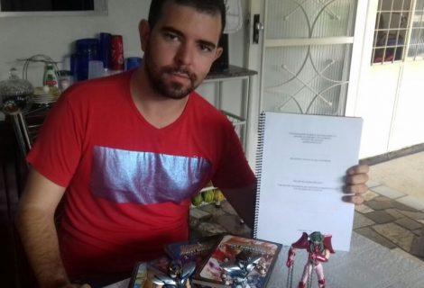 Estudante de Administração apresenta TCC sobre Cavaleiros do Zodíaco