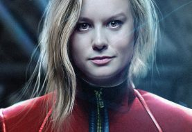 Imagens vazadas de Capitã Marvel mostram traje da heroína e Nick Fury