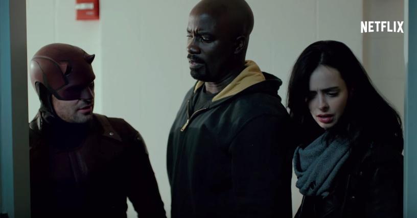 Novo trailer da série Os Defensores é divulgado; assista