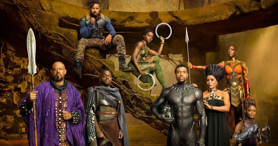 Novas imagens do filme Pantera Negra são divulgadas