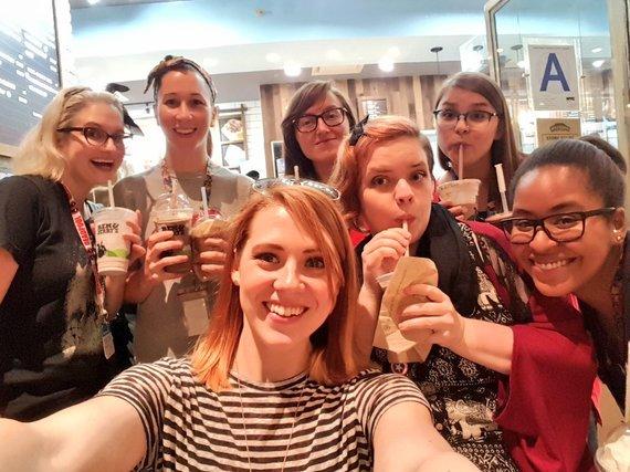 Selfie publicada por Heather Antos (Foto: Reprodução / Twitter)