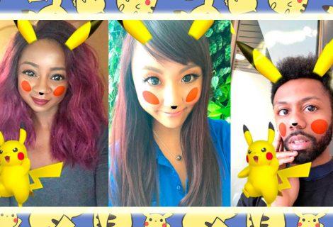 Snapchat apresenta finalmente seu novo filtro de Pikachu