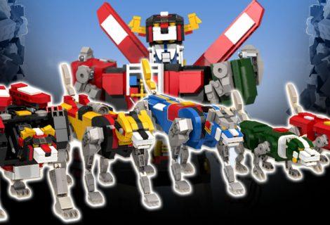 LEGO lança nova coleção incrível baseada em Voltron
