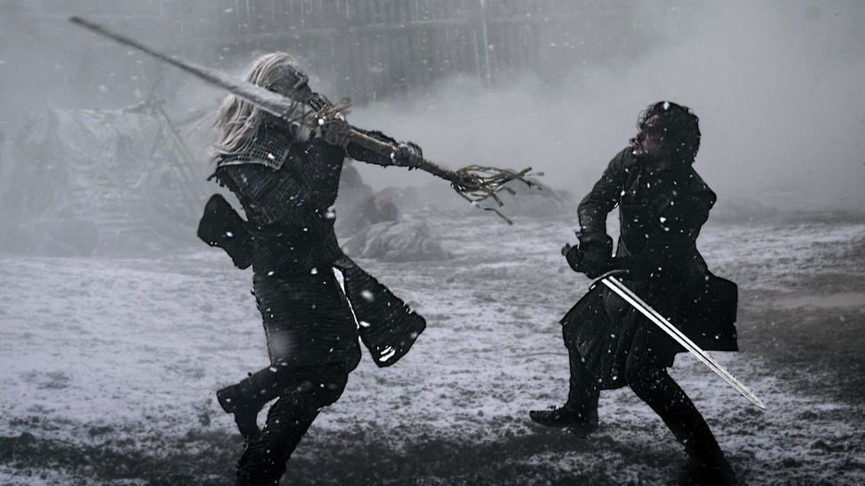 jon snow vs white walker