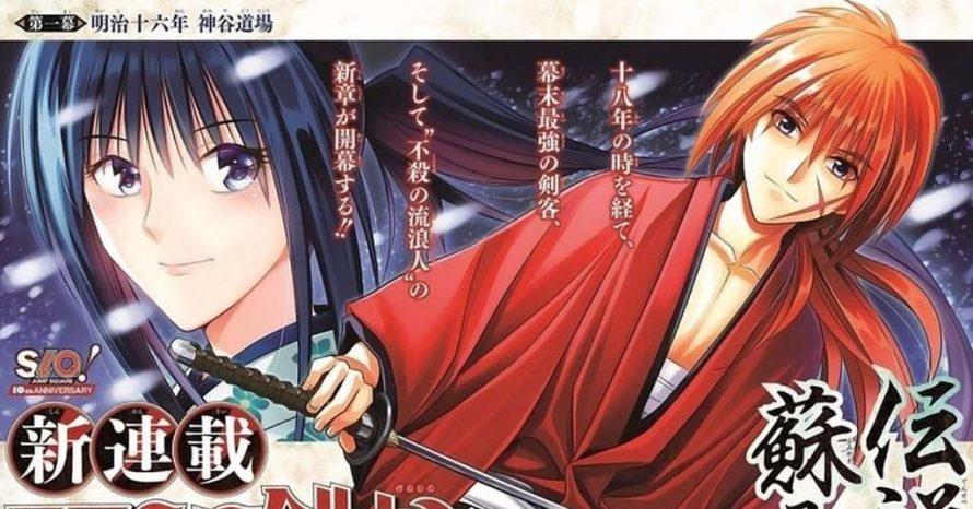 Mangá de Samurai X recomeça após 18 anos com novo arco