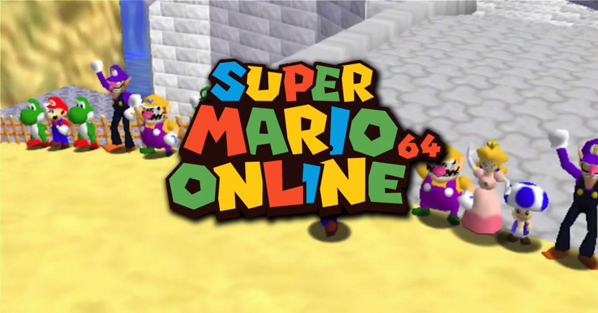 Super Mario 64 Multiplayer Hack Rom Download
