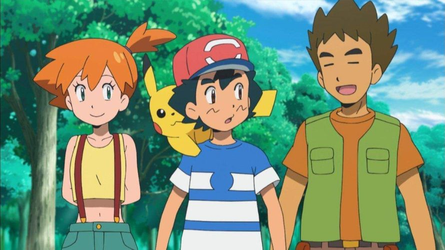 Pokémon: retorno de Brock e Misty ao anime ganha data e mais detalhes