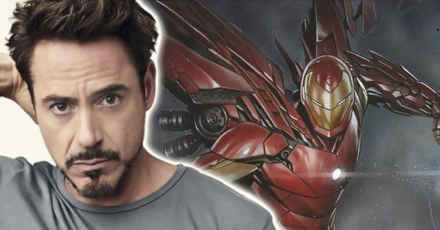Arte de Vingadores: Guerra Infinita mostra novo visual do Homem de Ferro