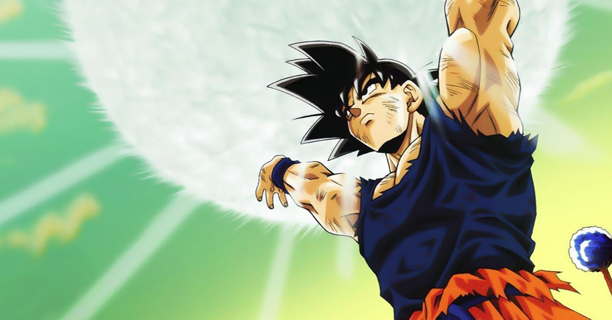 Dragon Ball Super Goku Vai Absorver A Genki Dama Durante Luta
