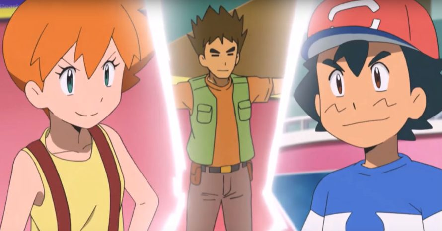 Pokémon: Sun & Moon mostra batalha épica entre Ash e Misty