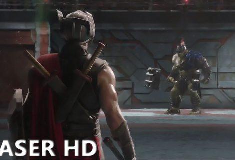 Thor: Ragnarok mostra novo vídeo de Thor e Hulk na arena