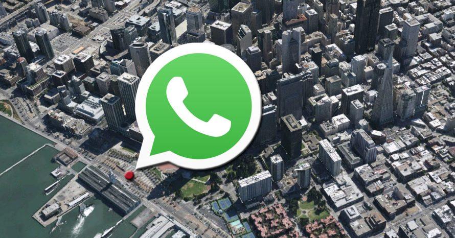 WhatsApp agora tem recurso para compartilhar localização em tempo real