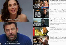 Falsiane? Site Omelete é criticado após elogios do elenco de Liga da Justiça