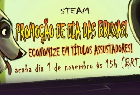 Promoção de Halloween na Steam tem games com descontos de até 90%