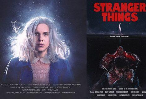 Pôsteres de Stranger Things são releituras de clássicos dos anos 70 e 80
