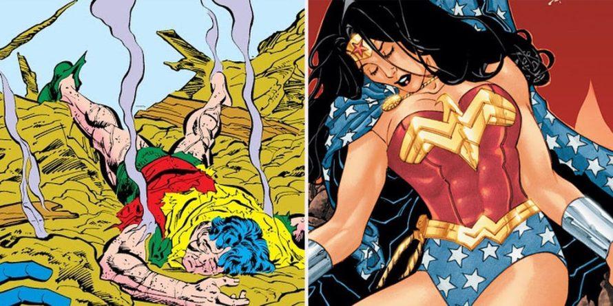 5 personagens DC que não vão parar de morrer