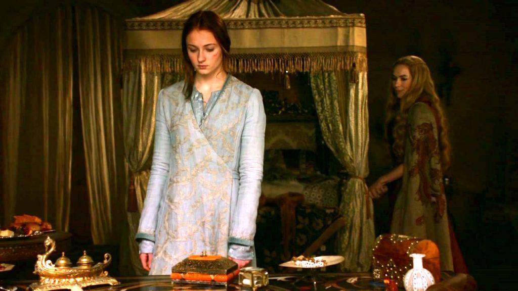 Game of Thrones Sansa Stark nunca será rainha de Westeros - Sansa Stark e Cersei Lannister