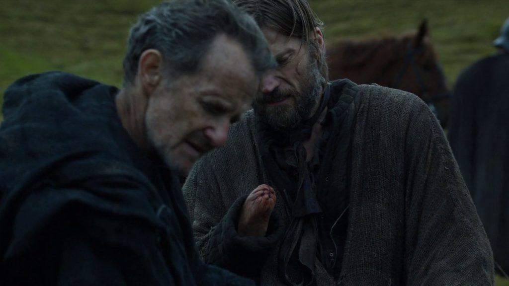 Qyburn cura Jamie Lannister