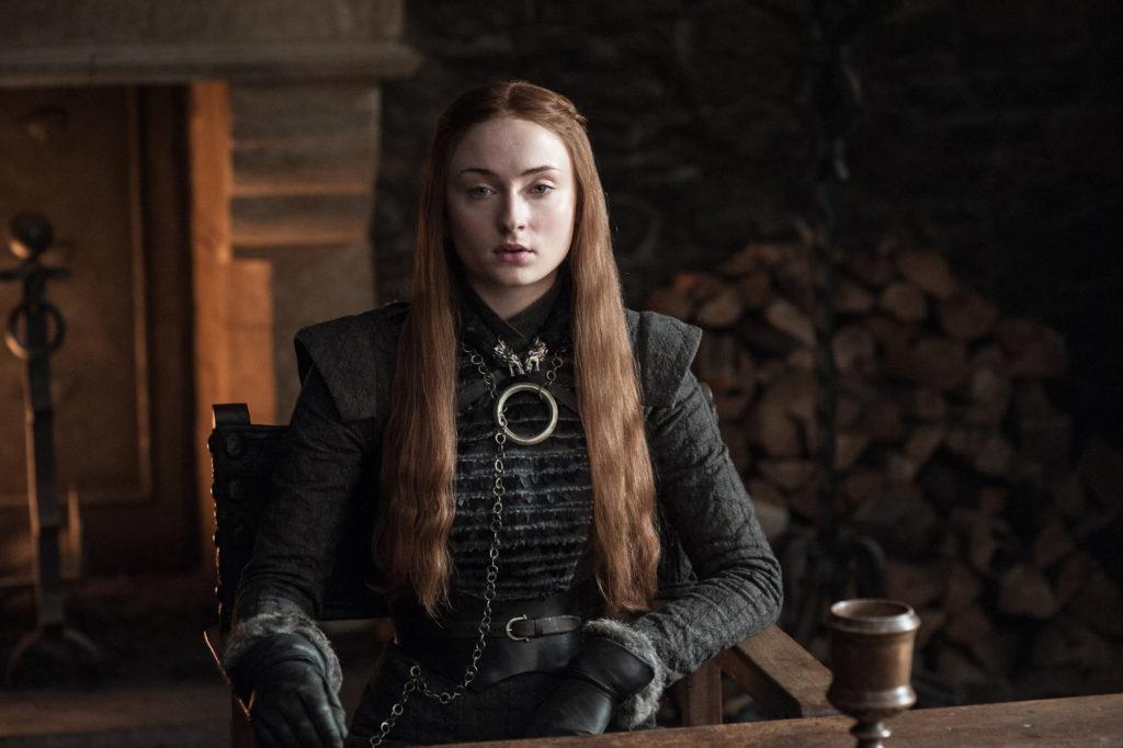 Sansa Stark por cima da carne seca