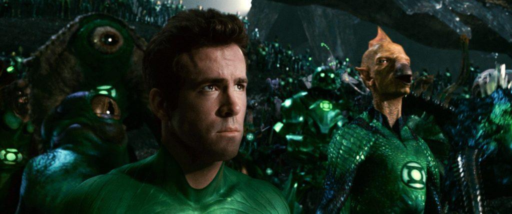 Top 6 filmes de heróis que precisam de reboot - Ryan Reynolds como Lanterna Verde