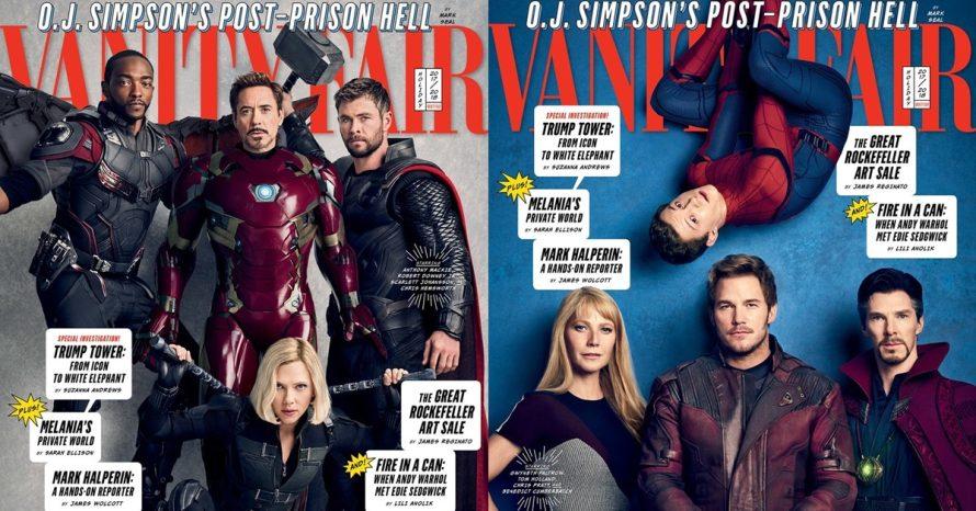 Revista traz fotos e informações reveladoras de Vingadores: Guerra Infinita