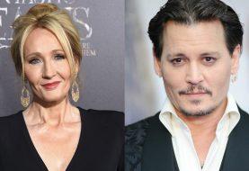 J.K. Rowling teria bloqueado fã que questionou Johnny Depp em filme