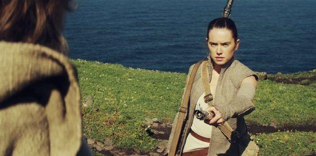 star wars-Rey e Luke
