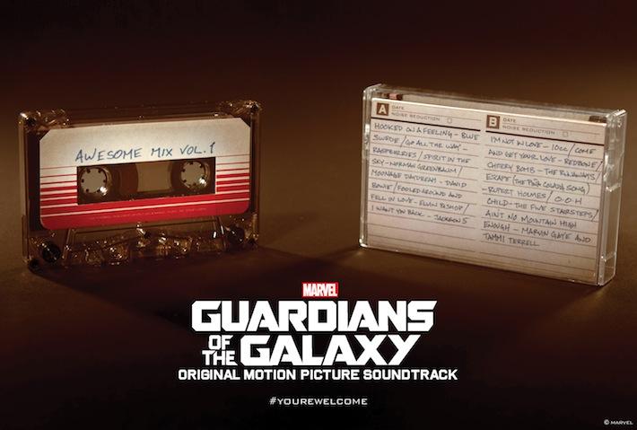 Guardiões da Galáxia e Stranger Things alavancam venda de fitas cassete