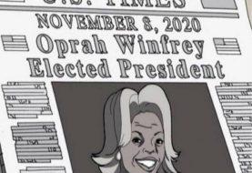 Animação previu em 2006 candidatura de Oprah à presidência dos EUA