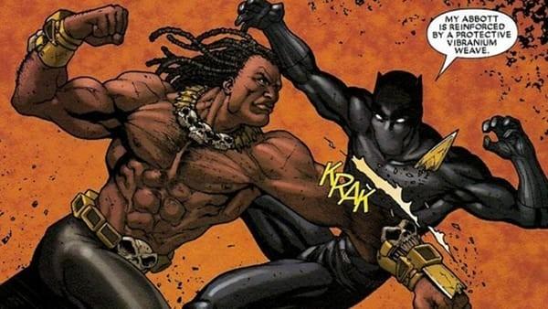 pantera negra-erik killmonger quadrinhos
