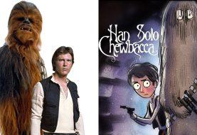 Desenhista faz personagens de Star Wars na estética de Tim Burton