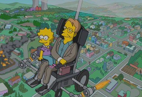 Os Simpsons homenageia memória de Stephen Hawking com nova cena