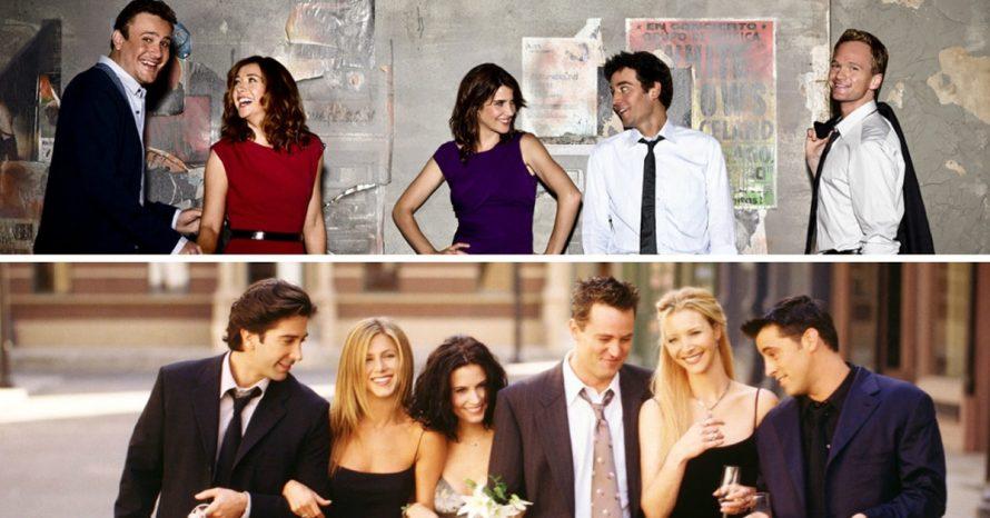 15 vezes em que 'Friends' e 'How I Met Your Mother' foram incrivelmente semelhantes