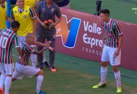 Dragon Ball: jogador de futebol comemora gol fazendo kamehameha