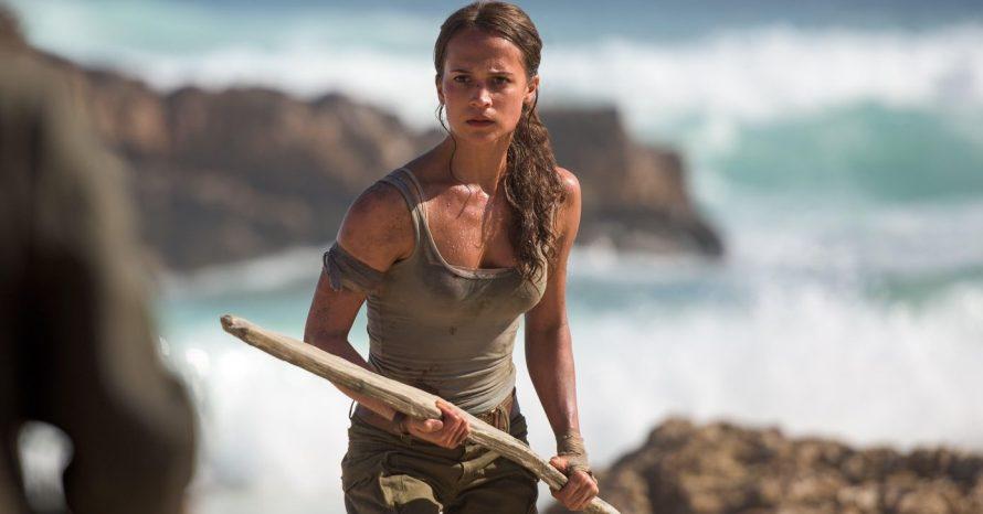 Fãs defendem Alicia Vikander após críticas aos seios dela em Tomb Raider: A Origem